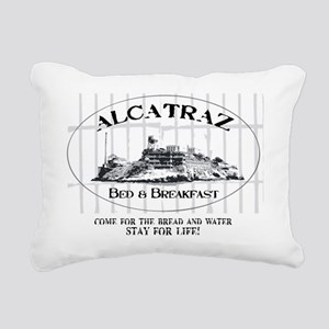 ALCATRAZ BB Rectangular Canvas Pillow