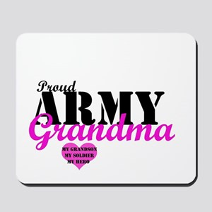 Army Grandma Mousepad