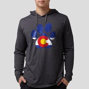 Colorado Paws Mens Hooded Shirt