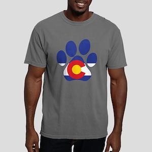 Colorado Paws Mens Comfort Colors Shirt