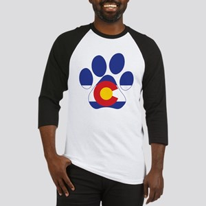 Colorado Paws Baseball Tee
