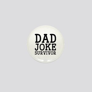 Dad Joke Survivor Mini Button
