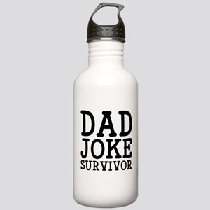 Dad Joke Survivor Stainless Water Bottle 1.0L