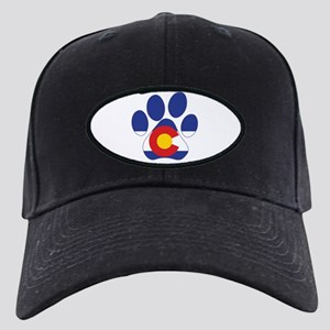 Colorado Paws Black Cap with Patch