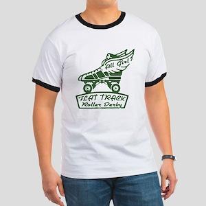 Flat Track Derby Ringer T