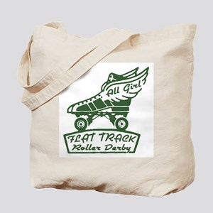 Flat Track Derby Tote Bag