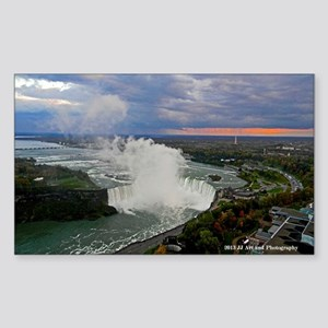 Horseshoe Falls Sunset Sticker (Rectangle)