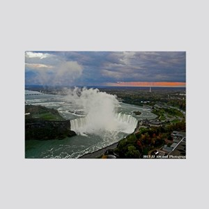 Horseshoe Falls Sunset Rectangle Magnet