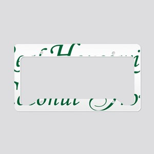 Real Housewife License Plate Holder