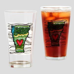 love VT Drinking Glass