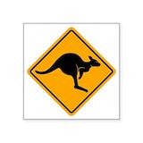 Australian road sign Stickers