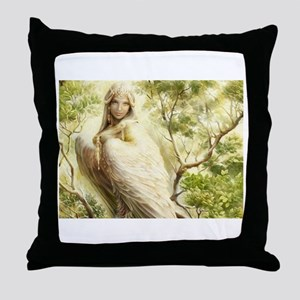 Angel 7 Throw Pillow