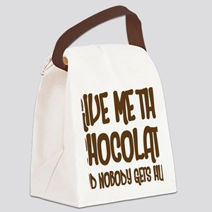 givemechoco Canvas Lunch Bag
