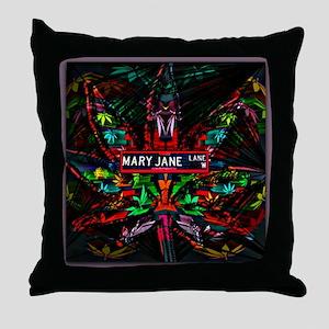 Mary Jane Lane Throw Pillow