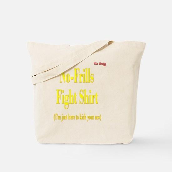2-No Frills Fight Shirt PNG Tote Bag