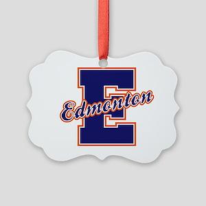 Edmonton Letter Picture Ornament