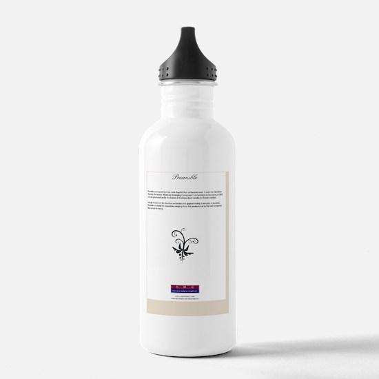 PreambleBackCover Water Bottle