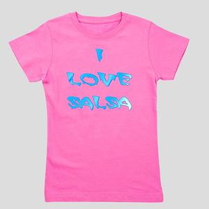 I LOVE SALSA BLD 003 Girl's Tee