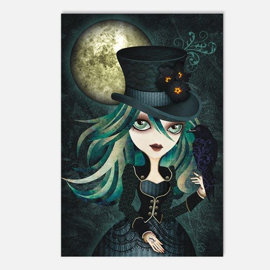 raven_high Postcards (Package of 8)