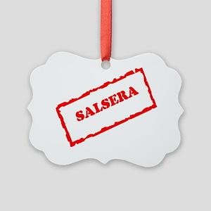 SALSERA STAMP Picture Ornament