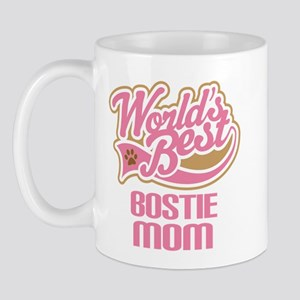 Bostie Dog Mom Mug
