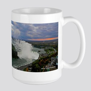 Horseshoe Falls Sunset Large Mug
