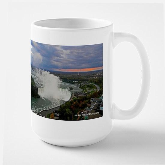 Horseshoe Falls Sunset Large Mug