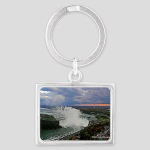 Horseshoe Falls Sunset Landscape Keychain