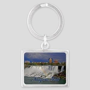 American Falls Landscape Keychain