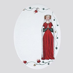 Well Behaved Women Rarely Make histo Oval Ornament