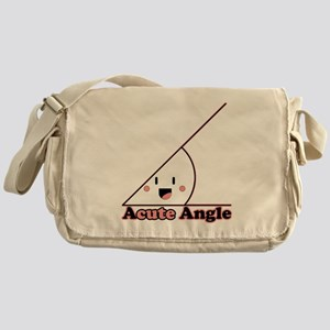 a cute angle Messenger Bag