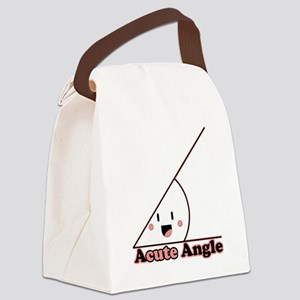 a cute angle Canvas Lunch Bag