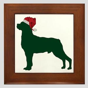 Rottweiler23 Framed Tile