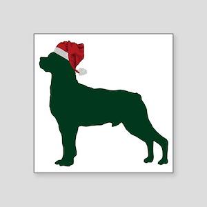 "Rottweiler23 Square Sticker 3"" x 3"""