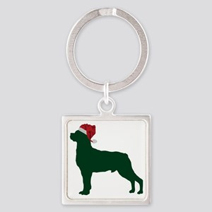 Rottweiler23 Square Keychain