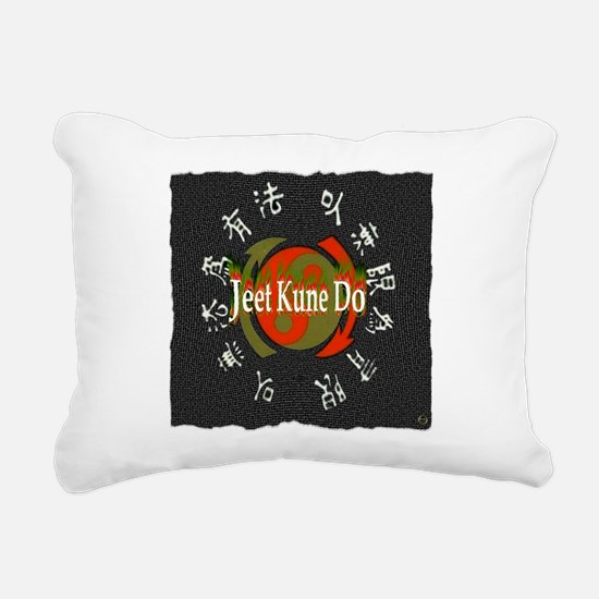 Jeet Kune Do Rectangular Canvas Pillow