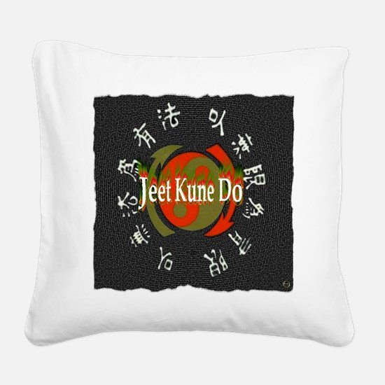 Jeet Kune Do Square Canvas Pillow