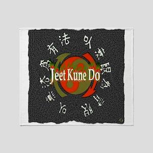 Jeet Kune Do Throw Blanket
