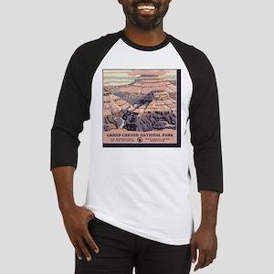 2-square_grand-canyon-wpa-vintage_ Baseball Jersey