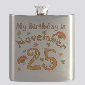 Thanksgiving Birthday Nov 25 Flask