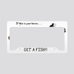 Fish License Plate Holder