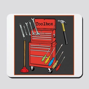 Colorful Toolbox Mousepad