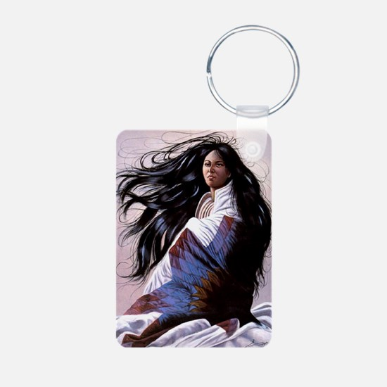 6 Aluminum Photo Keychain