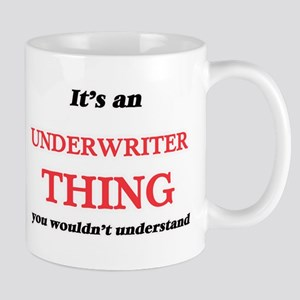 It's and Underwriter thing, you wouldn&#3 Mugs