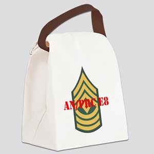 an prc 1sg Canvas Lunch Bag