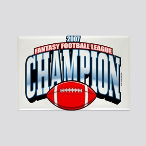2007 Fantasy Football Champio Rectangle Magnet
