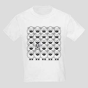 Blue Aussie and Sheep Kids T-Shirt