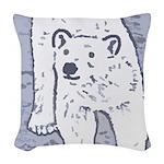 new Woven Throw Pillow
