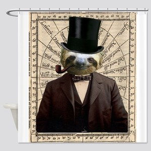 Gentlman Distinguished Sloth Steampunk Altered Art