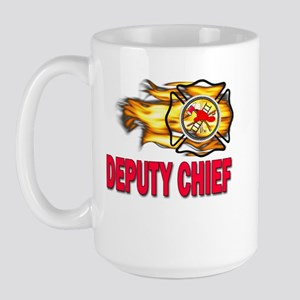 Deputy Fire Chief Large Mug